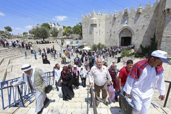 Palestinos de Jerusalén