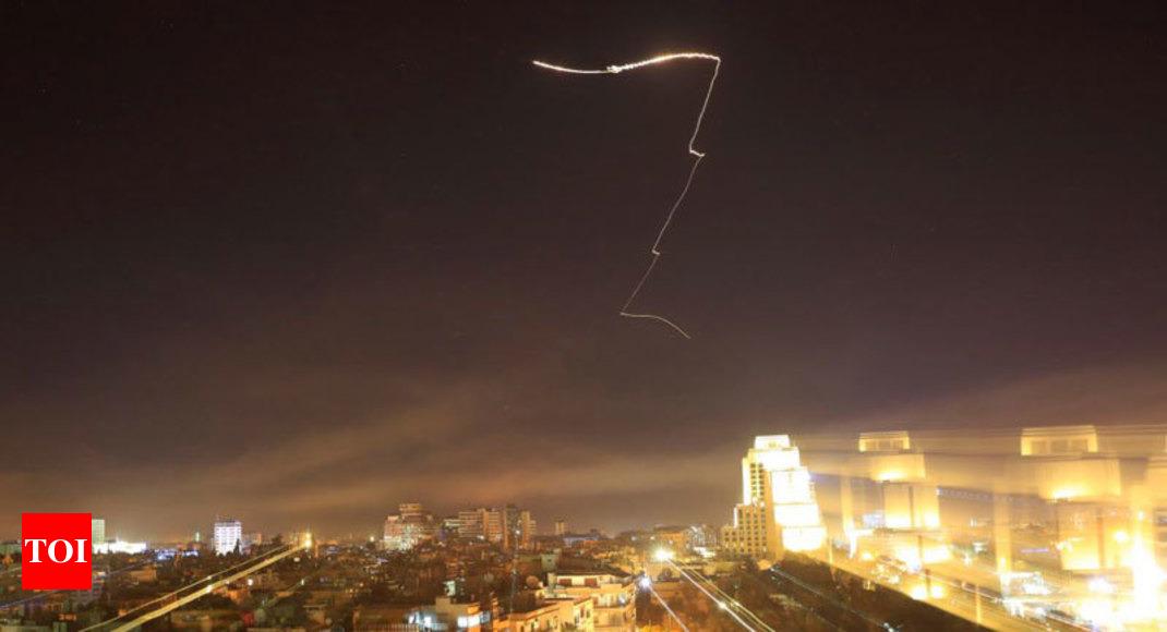 EEUU, Reino Unido y Francia atacan Siria por uso de armas químicas