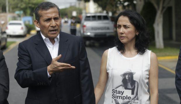 Ollanta Humala y Nadine Heredia, ya en libertad.