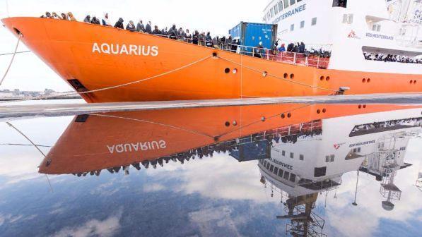 El barco Aquarius