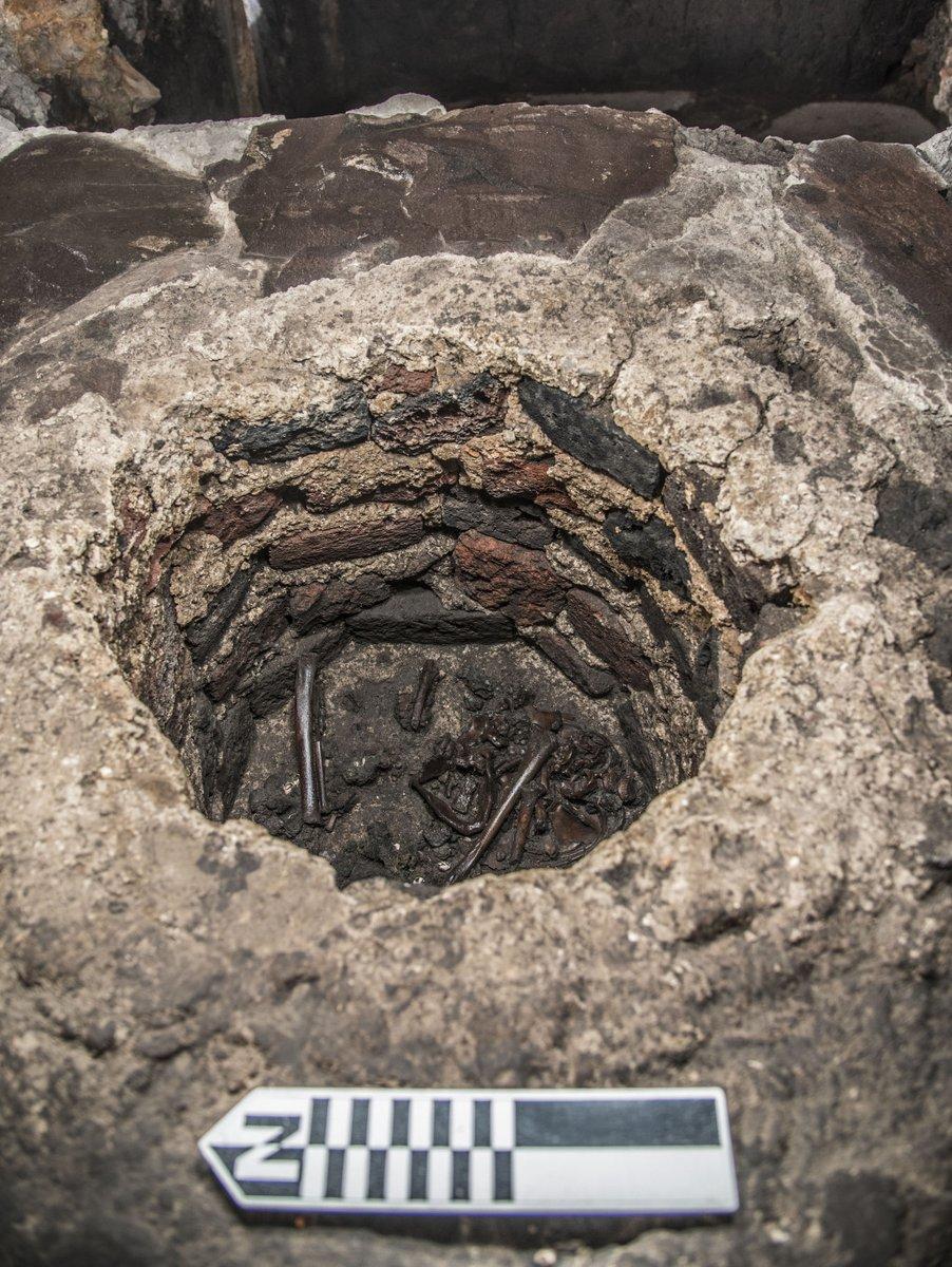 El entierro infantil dedicado a Huitzilopochtli