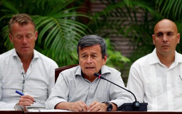 Los representantes del ELN