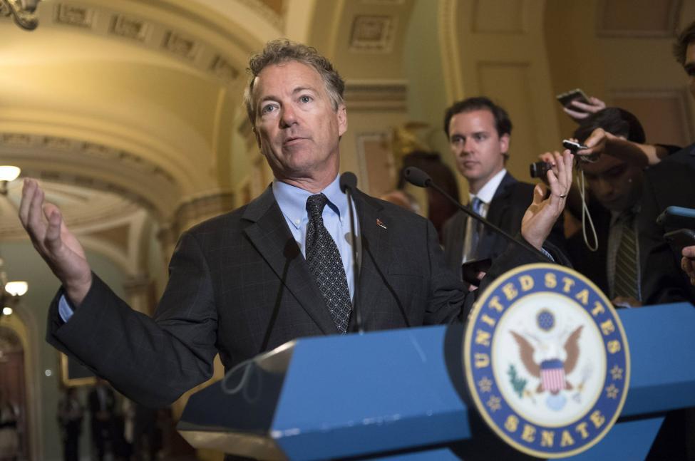 El senador Rand Paul