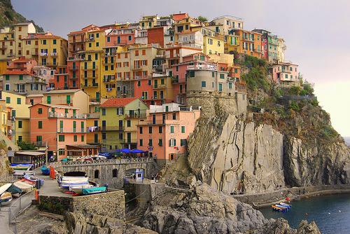 Le Cinque Terre, en el norte de Italia