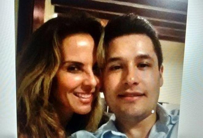 Kate del Castillo y Alfredo Guzmán