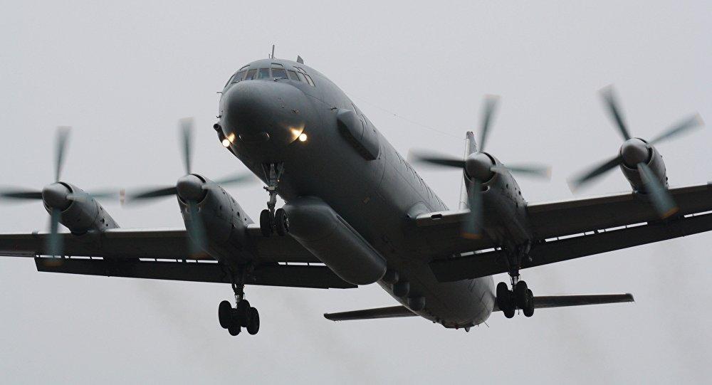 Un avión ruso Il-20
