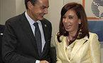 Un guiño de Cristina a las inversiones españolas