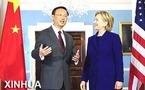 Canciller chino y Clinton hablan de lazos bilaterales