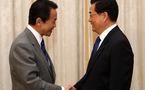 Presidente chino conversa con PM japonés sobre relaciones