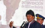 """Morales presenta libro sobre un siglo de """"intervención"""" de EEUU en Bolivia"""