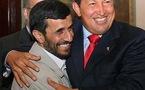 Presidente Chávez sostuvo encuentro con Ahmadineyad en palacio de gobierno iraní