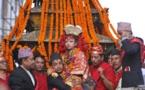 Nepal elige a una niña de 3 años como nueva diosa de la virginidad