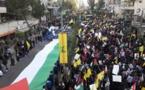 Hizbolá protesta en Beirut por traslado de embajada de EEUU en Israel