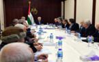 Abbas en la reunión de la OLP