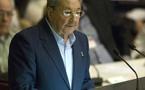 """Raúl Castro: """"Cuba no cederá al chantaje de EEUU y Europa"""""""