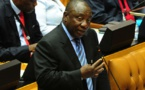 Cyril Ramaphosa, investido como nuevo presidente de Sudáfrica