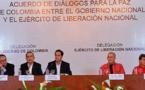 Gobierno de Colombia y ELN inician nuevo ciclo de diálogos de paz en Quito