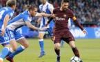 El Barcelona conquista la Liga española con un Messi estelar