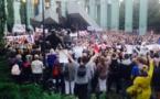Protestas frente al Tribunal Supremo de Polonia por reforma justicia