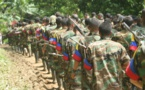 Ex combatientes de las FARC estrenan película