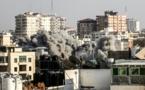 Un bombardeo israelí en Gaza