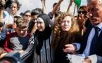Sale de prisión Tamimi, icono adolescente de la resistencia palestina