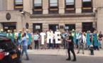 México repudia acto supremacista frente a su consulado en Nueva York