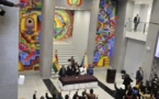 """Evo Morales inaugura monumental """"Casa Grande del Pueblo"""" en La Paz"""
