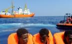 """Cinco países acogen a migrantes del """"Aquarius"""", que atracará en Malta"""