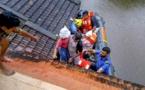 Más de un millón de personas huyen de las inundaciones monzónicas