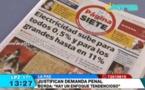 """Evo Morales se muestra a favor de ley """"contra la mentira"""" en medios"""