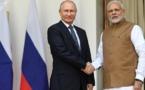 Putin en India: Concretan suministro de sistema antiaéreo ruso