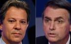 Bolsonaro gana en primera vuelta, pero no evita balotaje con Haddad