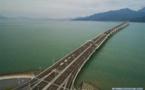 Xi inaugura el puente Hong Kong-Zhuhai-Macao