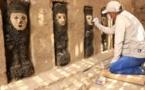 """Hallan antiguos """"guardianes"""" antropomorfos en Perú"""