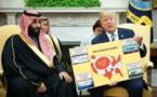Muhammad Bin Salman-a la izquierda-y Donald Trump