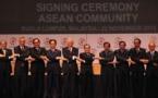 La Asean lanza un bloque económico inspirado en la UE