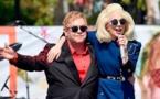 Elton John da concierto sorpresa en Los Ángeles con Lady Gaga como invitada
